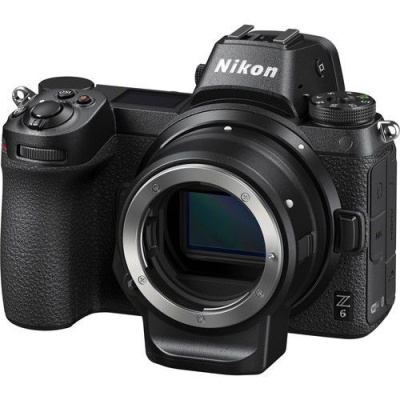 Photo of Nikon Z6 Mirrorless Camera with FTZ Mount Adapter