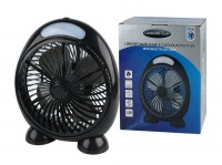 Leisure Quip Leisurequip USB Rechargeable Cool Blaster Fan with Built In LED Light