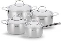 scanpan brund inspire cookware set of 4