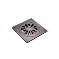 blackened brass square drain cover bathroom accessory
