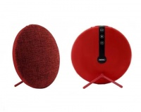 remax bluetooth fabric desktop speaker red