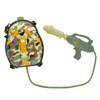 backpack water gun brown camo water toy