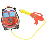 backpack water gun fire truck water toy
