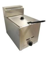 Single Gas Fryer Stainless Steel