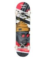 standard skateboard complete romance 80 pre built skateboarding