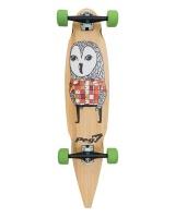 37 pin tail owl skateboarding