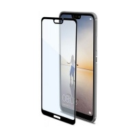 Tempered Glass Screen Protector for Huawei P20 Lite Black