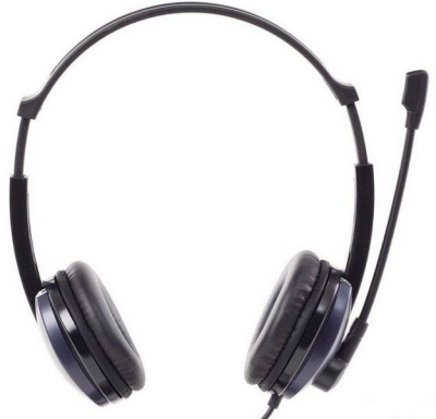 Photo of MICROLAB K290 Multimedia Headset With Boom Microphone