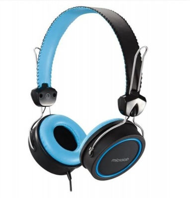 Photo of MICROLAB K300 HEADSET -BLACK/BLUE