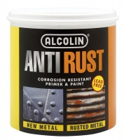 alcolin anti rust black 1 litre paint