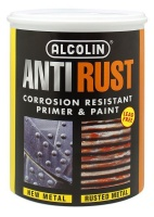 alcolin anti rust black 5 litre paint