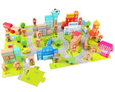 Classic World City Building Blocks Set
