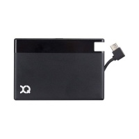 xqisit Powerbank 1350mAh Ultra Slim Android Micro USB