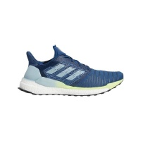 adidas mens solar boost running shoes blue shoe