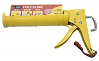 alcolin caulking gun yellow paint