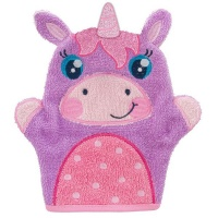 bath mitts unicorn bath toy