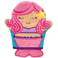 bath mitts mermaid bath toy