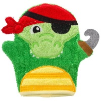 bath mitts alligator bath toy