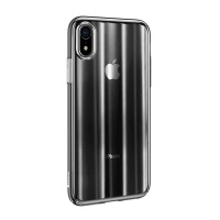 baseus ultra thin electroplated cover for iphone xr black