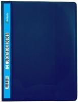 Butterfly Quotation Folders Pvc 180 A4 Blue