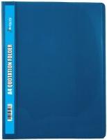 Butterfly Quotation Folders Pvc 180 A4 Light Blue