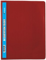 Butterfly Quotation Folders Pvc 180 A4 Red