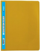 Butterfly Quotation Folders Pvc 180 A4 Yellow