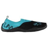 hot tuna ladies aqua water shoes black and turquoise shoe