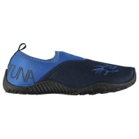 hot tuna childrens aqua water shoes navy and royal parallel shoe