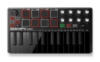 akai professional mpk mini2 controller unit black midi controller