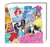 Disney Princess 5 Shaped Puzzle Box