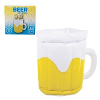 ice bucket inflatable beer mug 40cm braai accessory