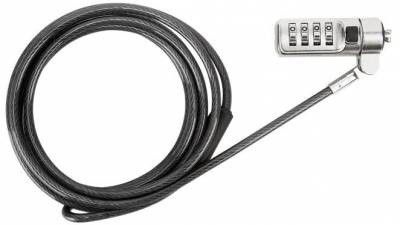 Photo of Targus Defcon Trapezoid Serialized Combo Cable Lock - Black