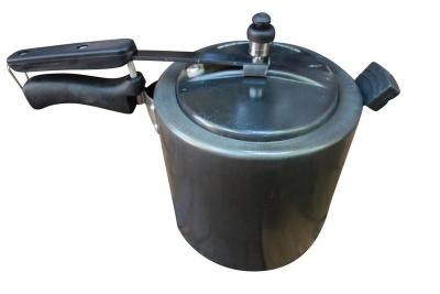Aluminium Pressure Cooker with Inner Lid 7L Hard Anodized