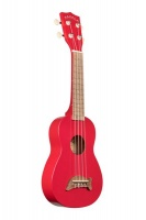 apple makala dolphin candy red soprano ukelele speakers