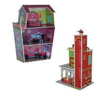 dollhouse and fire station dollhouse doll