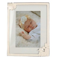 christening frame with sheep and cross tt frame