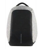 volkano smart series anti theft laptop backpack black and