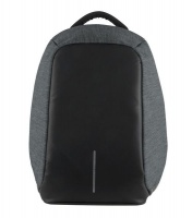 volkano smart series anti theft laptop backpack charcoal