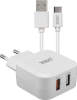 3SIXT Quick Charge Wall Charger USB A to USB C 54A