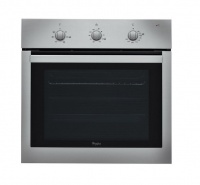 whirlpool 65l inox self cleaning electric akp 738 ix oven