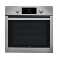 whirlpool 65l inox electric akp 742 ix oven