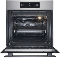 whirlpool 65l inox 6th sense electric akz 6230 ix oven