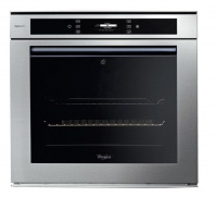 whirlpool 73l inox 6th sense electric akzm6560 oven
