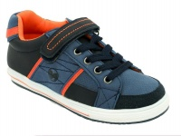 boys bubblegummers closed casual shoes navy shoe