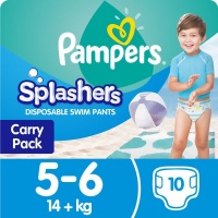 pampers splashers swimming pants 10 nappies 6 nappy