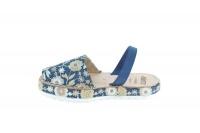 nobuck floral spanish sandals shoe