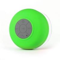 raz tech waterproof bluetooth mini shower speaker with mic
