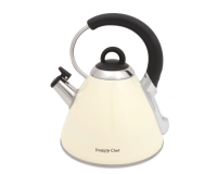 Snappy Chef 22 Litre Whistling Kettle Beige