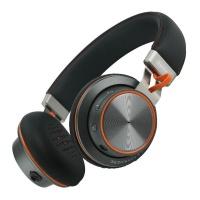 remax bluetooth headphone black rb 195hb